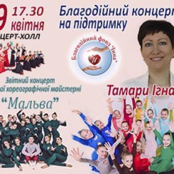 Акции - 29 Апреля – Благотворительный концерт в ТРЦ «Терминал» | Фонд Инна