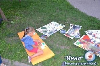 Галерея - Акция «Играя – дарим жизнь» 27.08.2016 | Фонд Инна