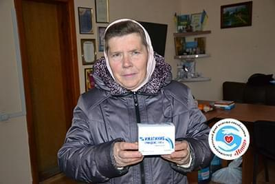 Новини - Допомога для Ніни Гребеножко   Фонд Інна