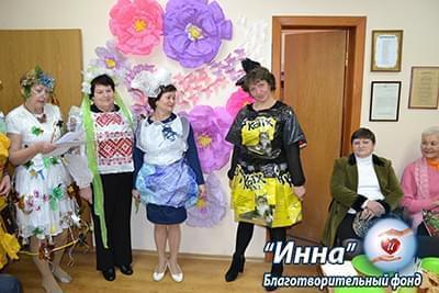 Новости - Эксклюзивный показ стильной одежды | Фонд Инна