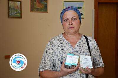 Новости - Лекарства для Оксаны Гашенко | Фонд Инна