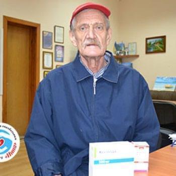 Новости - Лекарства Владимиру Мельнику | Фонд Инна - Благотворительный фонд помощи онкобольным