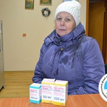 Новини - Ліки для Лариси Кульчицької | Фонд Інна - Благодійний фонд допомоги онкохворим