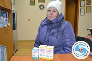 Новини - Ліки для Лариси Кульчицької | Фонд Інна