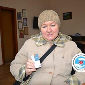 Новости - Лекарство для Василенко Валентины | Фонд Инна - Благотворительный фонд помощи онкобольным