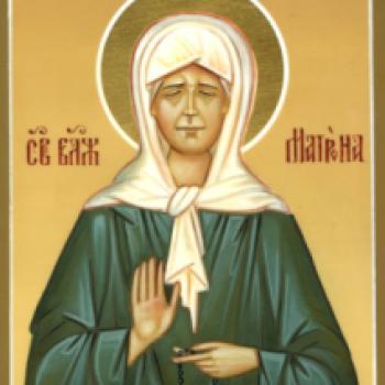 Духовная поддержка - Молитва Святой Матроне о здравии | Фонд Инна