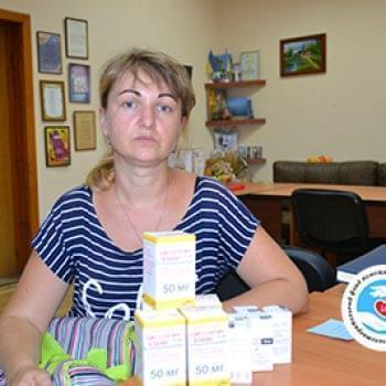 Новости - Передача препаратов для Александра Теплюка | Фонд Инна