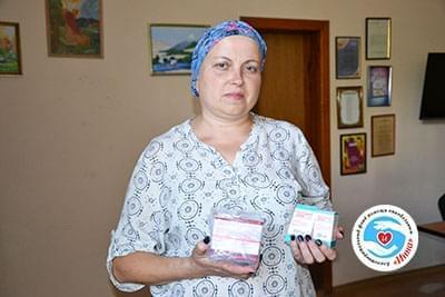 Новини - Передані ліки Оксані Гашенко | Фонд Інна