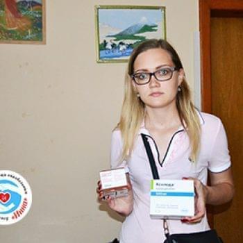 Новости - Переданы препараты для Владимира Мельника | Фонд Инна - Благотворительный фонд помощи онкобольным