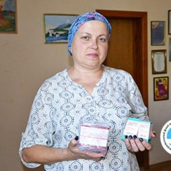 Новости - Переданы препараты Оксане Гашенко | Фонд Инна