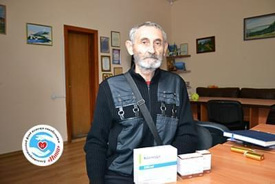 Новини - Передані препарати Сергію Маркову | Фонд Інна
