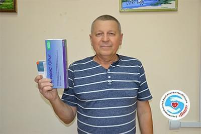 Новини - Передані препарати В'ячеславу Степаненко | Фонд Інна