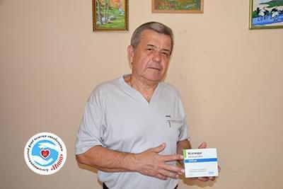 Новости - Передано лекарство Александру Ходыреву   Фонд Инна
