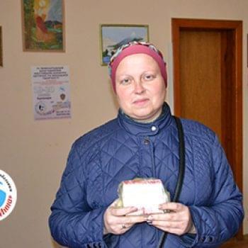 Новости - Передано лекарство Оксане Гашенко | Фонд Инна