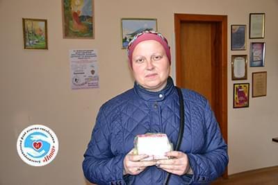 Новини - Передано ліки Оксані Гашенко | Фонд Інна