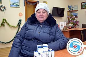 Новости - БФ «Инна» закупил лекарство для Зинаиды Маруняк | Фонд Инна