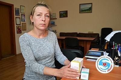 Новини - Препарати для Оксани Дудки | Фонд Інна