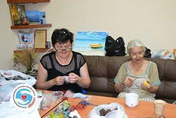 Новини - В Фонді пройшло ще одне заняття з арт-терапії   Фонд Інна