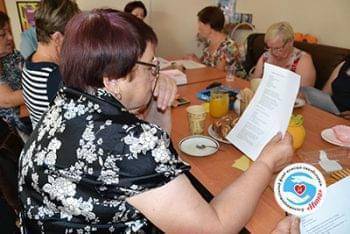 Новини - Відбулася лекція по здоровому харчуванню | Фонд Інна