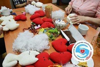 Новости - Занятие по пошиву игрушек прошло  активно | Фонд Инна