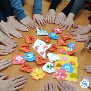 Новости - Оригами как элемент реабилитации | Фонд Инна